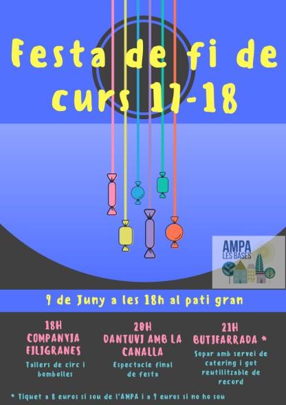 Festa fi de curs 17-18